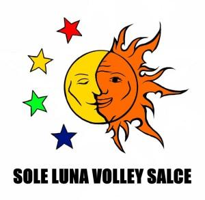 logo sole luna volley salce colori